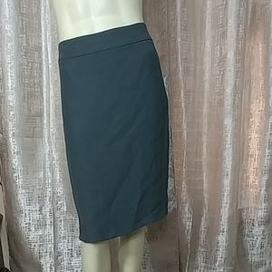 ARMANI COLLEZIONI Wool Blend Pencil Skirt